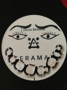 Structuri frezate dentare în Cluj-Napoca la TONYLAB